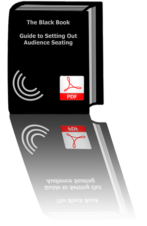 Black Book - guidance on setting out lecture theatres and audience seating