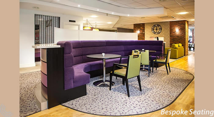 bespoke seating for restaurant and hotel from Chart Area Seating