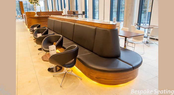 bespoke seating for hotels and offices receptions from Chart Area Seating