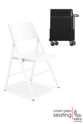 CAS_AXA folding chairs for halls and churches