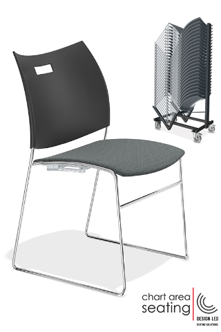 CAS_CARV stacking linking chair for village halls and churches