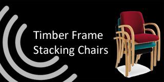 timber stacking chairs from chart area seating